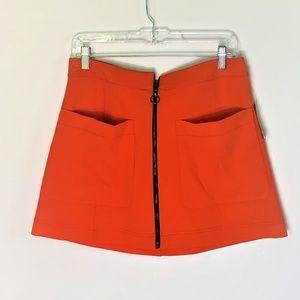 NWT Rachel Rachel Roy Retro Mini Skirt